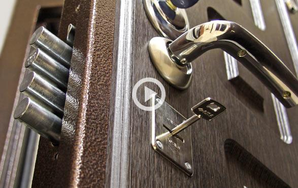 Видео двери Дверь Гранит М5 в СПб